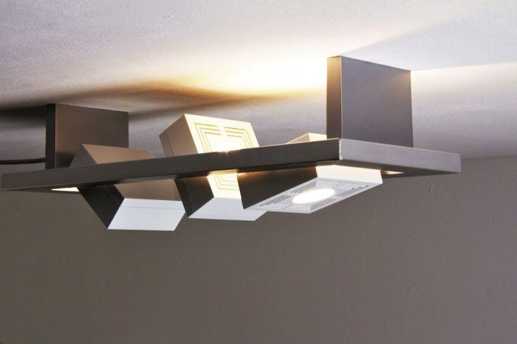 Design Lampe Osram LED Deckenleuchte Deckenlampen Deckenstrahler Deckenlampen | eBay