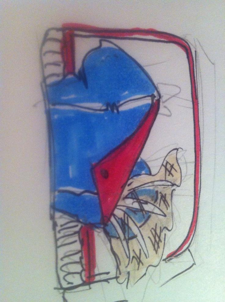 Bag dzine sketch