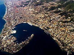 Messina dall'alto
