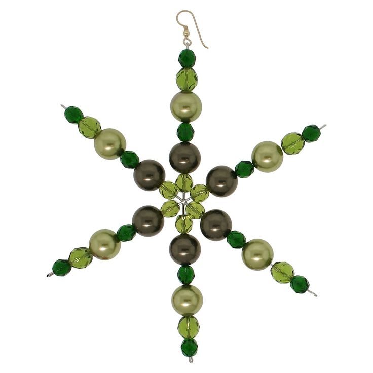 The Grinch Snowflake   Fusion Beads Inspiration Gallery