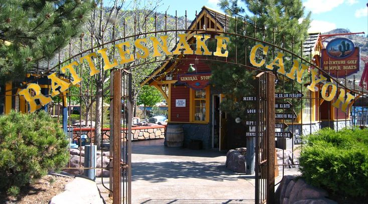 An Amusement Park with a tattoo parlour?!?  Rattlesnake Canyon Amusement Park - Osoyoos, BC
