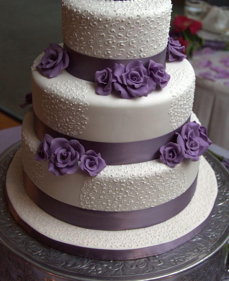 Cake Designs No Fondant : 17 Best ideas about Fondant Wedding Cakes on Pinterest ...