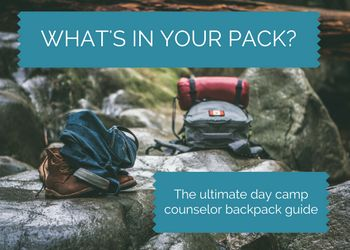 WHAT'S IN YOUR PACK? The Ultimate Day Camp Counselor Backpack Guide The #1 trait of a successful camp counselor is coming to camp prepared. Let's face it, whether you're brand-new or you've …