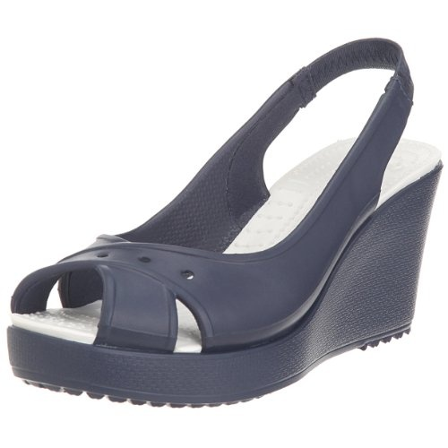 Cutie peep-toe wedges that are amazingly comfortable.  p.s. AND they're Crocs.