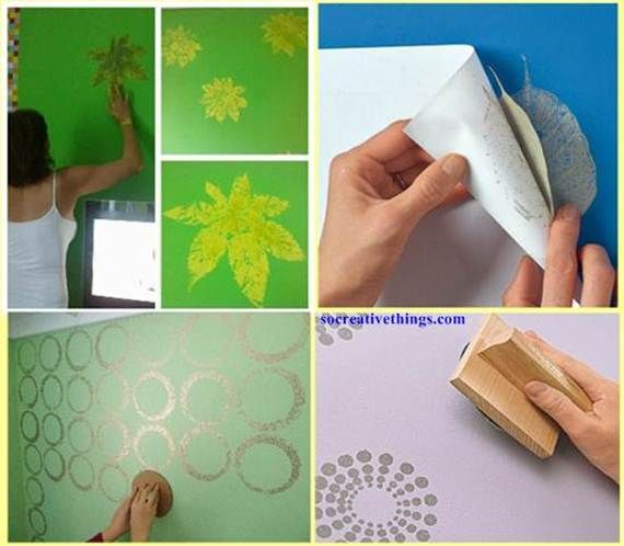 10 best images about how to paint creative on pinterest - Unique ways to paint a wall ...