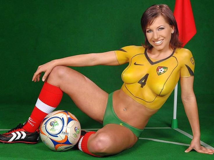 Pintura Corporal Porno These Body Paints Make These Girls Hottest Fifa 2014 Fans