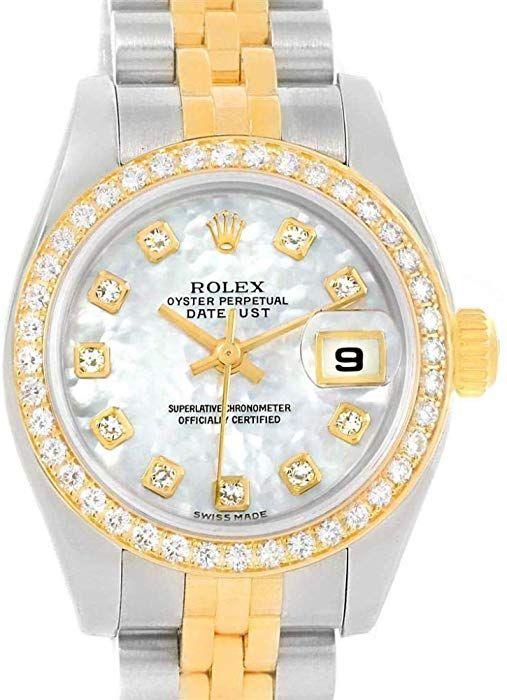 Amazon com: Rolex Datejust Automatic-self-Wind Female Watch