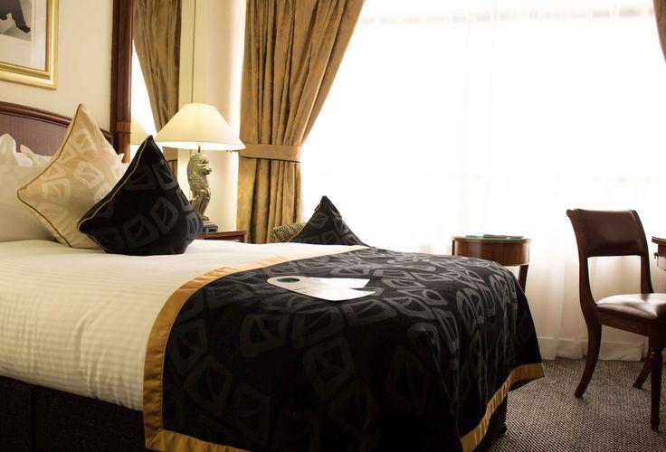 Our amasing room in the Millenium Knighstbridge Hotel.