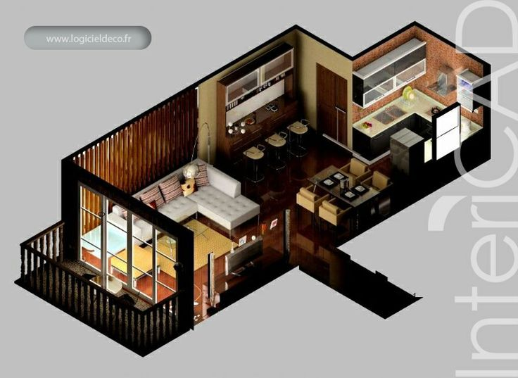 9 best plans de vente 3d images on pinterest 3d sketch 3d photo and floor plans. Black Bedroom Furniture Sets. Home Design Ideas