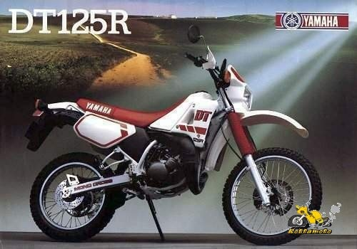 DT 125 R - YAMAHA - 1986