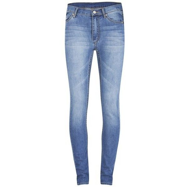 Cheap Monday Women's Second Skin High Rise Skinny Jeans - Rise Above and other apparel, accessories and trends. Browse and shop related looks.