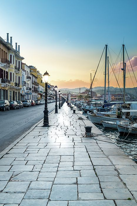 """""""Gythion / #Greece"""" by Stavros Argyropoulos #CoastalArt #boats"""