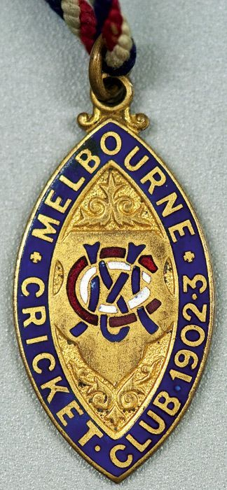 Cricket Memorabilia, Badges - Melbourne Cricket Club (mcc) - Carter's Price Guide to Antiques and Collectables