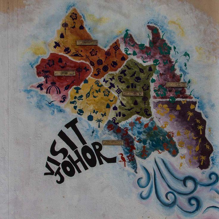 Strassenkunst in Johor Bahru #kunst #strassenkunst #graffiti #graffitikunst #reise #reisen #johorbahru #malaysia