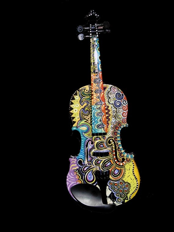 Such a cool violin to play!