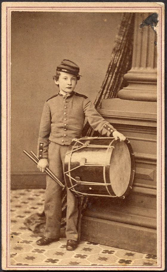 Drummer Boys in the Civil War