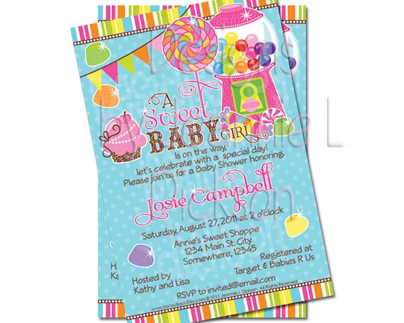 Delightful Cute Ecakes: Like A Kid In A Candy Store~ Baby Shower Theme (have A Whole  Board Dedicated To This Theme)