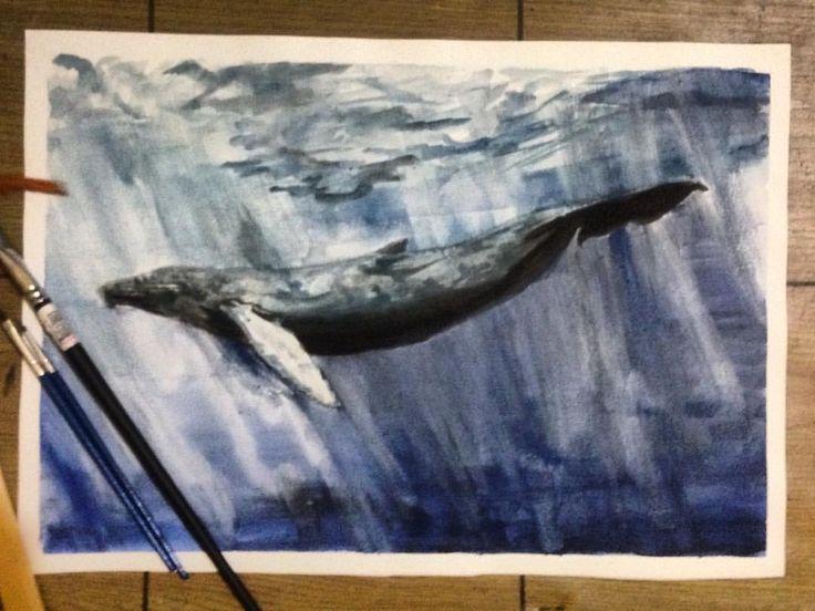 "62 Suka, 2 Komentar - Feby Bayu Samudra (@fbybayu) di Instagram: ""Liyona watercolor on canson 200gsm. . . . Allah swt yang menjamin seluruh rezeki makhluknya rezeki…"""