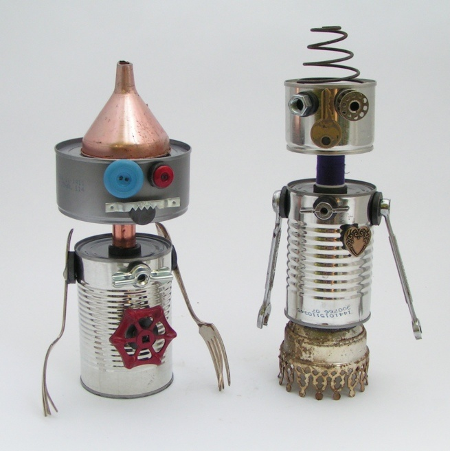 amy flynn designs: make your own robot