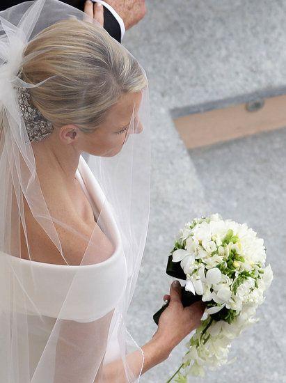Charlene Wittstock, loved her veil