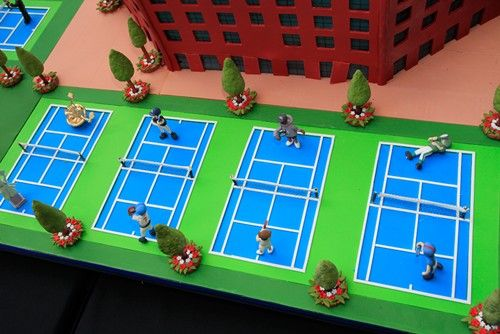 Tennis Fixation: A Whole Tennis Cake TV Show!