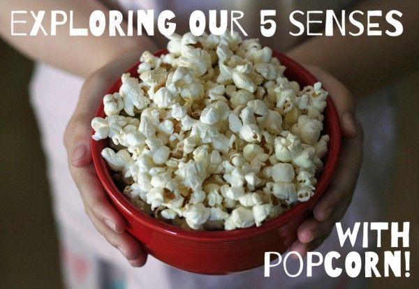 Exploring our 5 Senses with Popcorn!