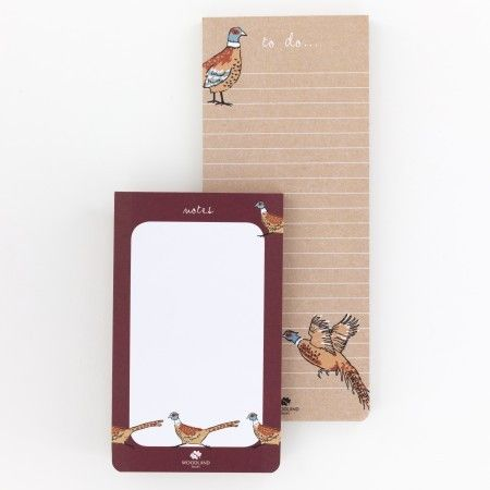 Woodland Trust Pheasant List Pads 2 Pack - £5.50