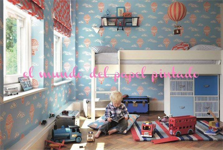 ABRACAZOO La colección presenta once diseños de Papel Pintado con sus Tejidos ilustrando los mundos imaginarios de los niños. http://www.elmundodelpapelpintado.com/ver-articulos-fabricante.asp?variante=1&tipo=&estado=fabricante&apartado=papeles&nombre=Sanderson&fabricante=7&tar=ABRACAZOO%20WALLPAPER&tarifa=1042