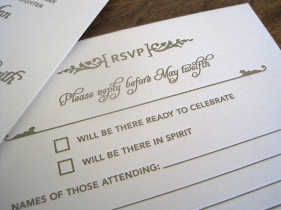 rsvp: Love the wording