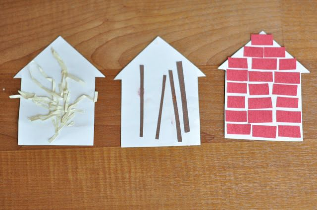 Three Little Pigs Activities - Play Learn Love