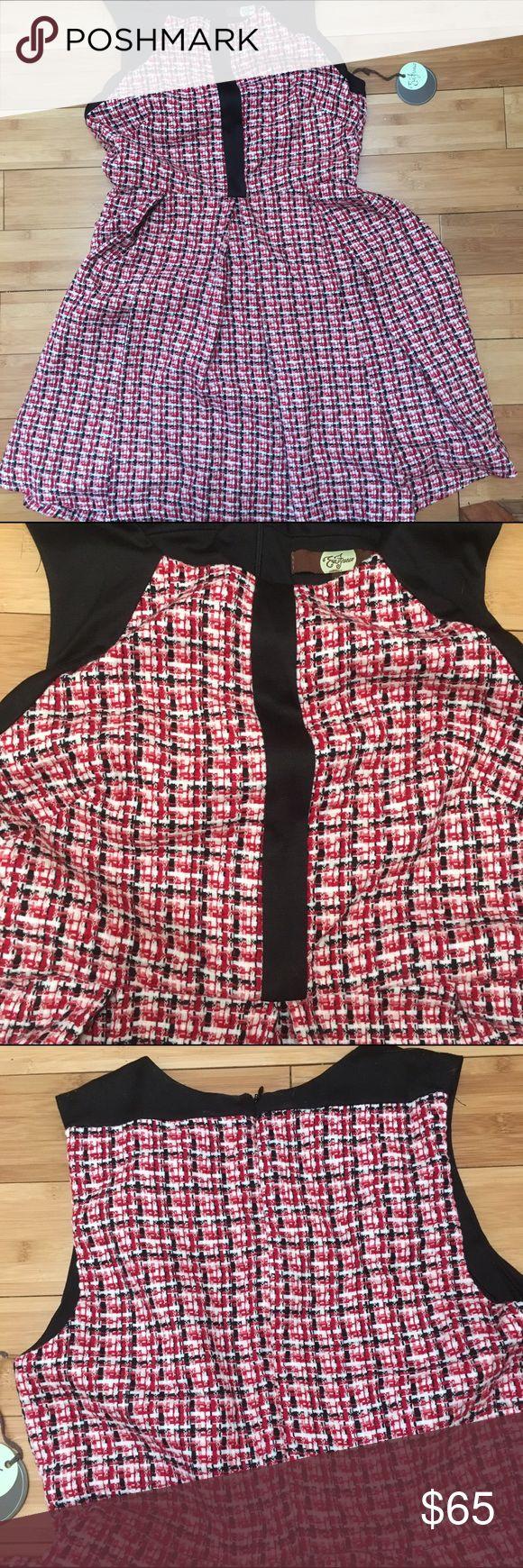 Eva Franco Red Haze NWT. Size 10 Eva Franco Dresses