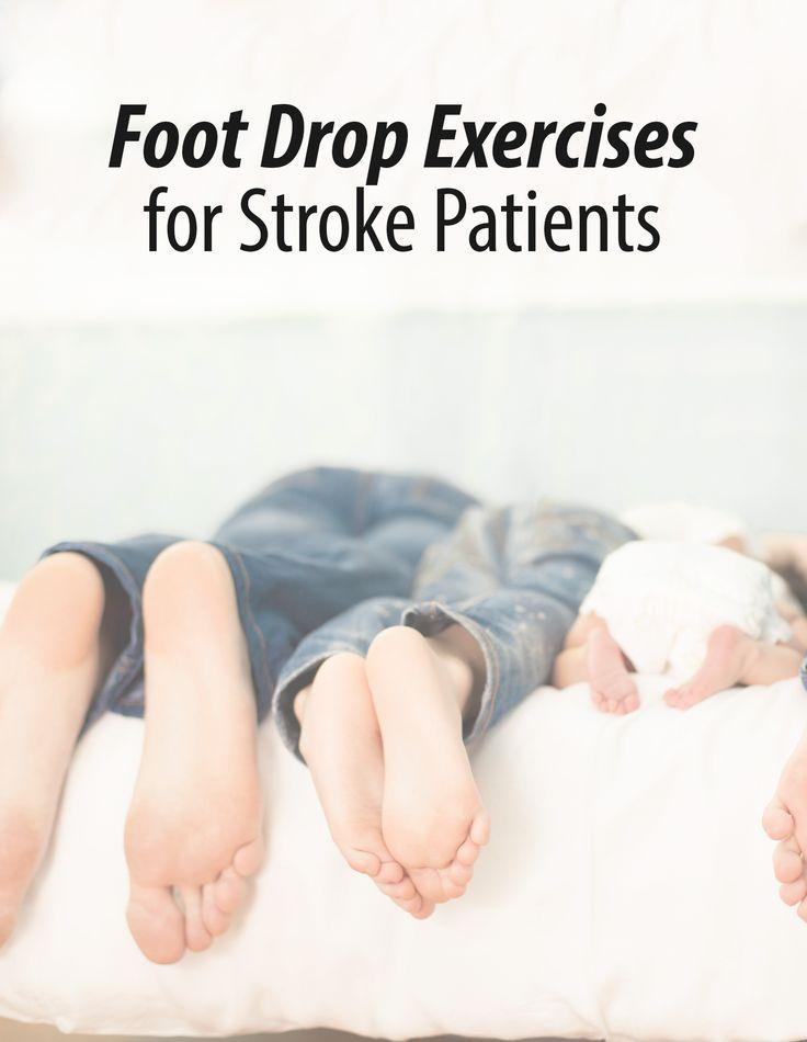 Foot Drop Exercises for Stroke Patients – Flint Rehab