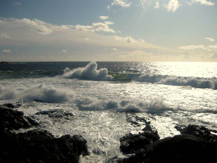 The ocean in Norway.