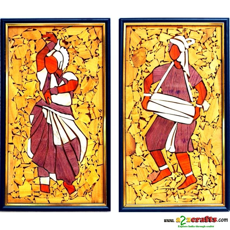 Manipuri Dance-Wooden Collage painting Price:Rs. 1,500 http://www.a2zcrafts.com/index.php?route=product/product&path=200&product_id=824
