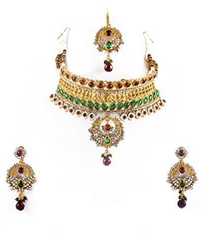 Beautiful Indian Bollywood Style Red Green Color Pearls P... https://www.amazon.com/dp/B01MXO0RBD/ref=cm_sw_r_pi_dp_x_5KiazbP8550XX