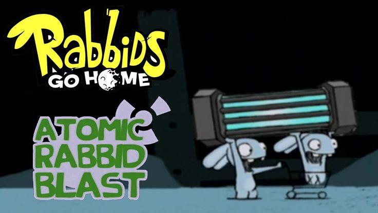 #10 Rabbids Go Home - Atomic Rabbid Blast - Video Game - kids movie - Ga...