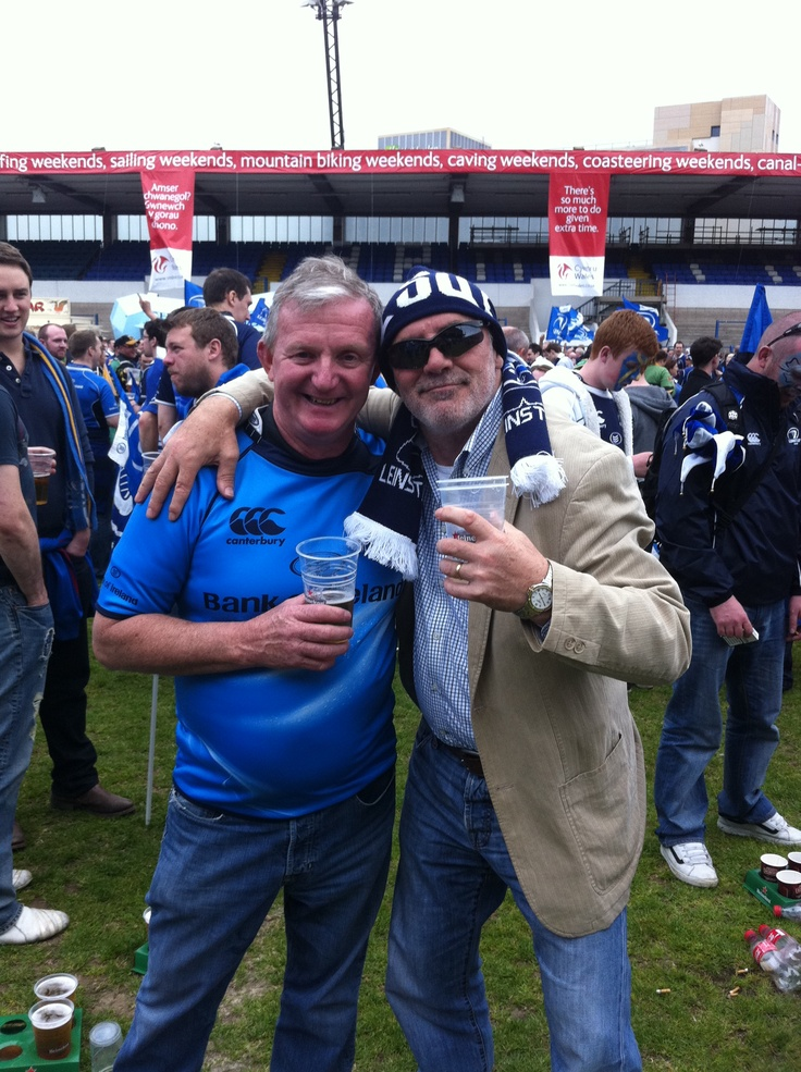 Dad, it does not matter which one. What are they like, Cardiff Leinster v Northhampton