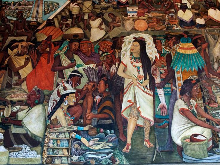 1000 images about mexican on pinterest chicano for Diego rivera aztec mural