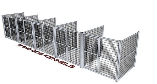 Rhino Dog Kennels heavy duty indestructible dog crates are built to last. They are designed to withstand the toughest pets. Collapsible for easy transport.