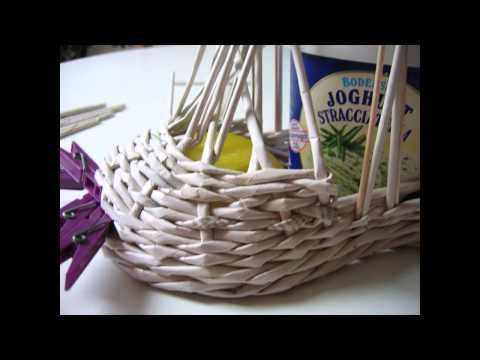 How to make a paper shoe - YouTube