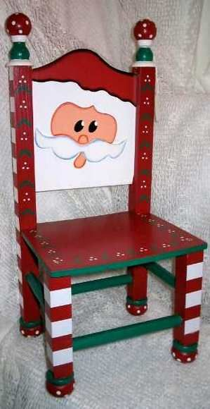 Mini Santa Chair