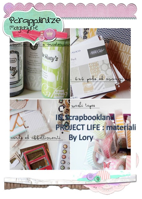 in scrapbookland: Project Life