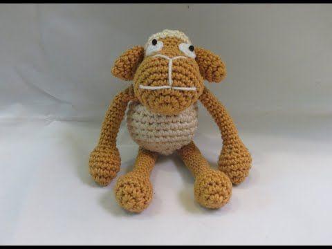 ▶ كروشيه خروف العيد | Crochet Amigurumi Sheep - YouTube