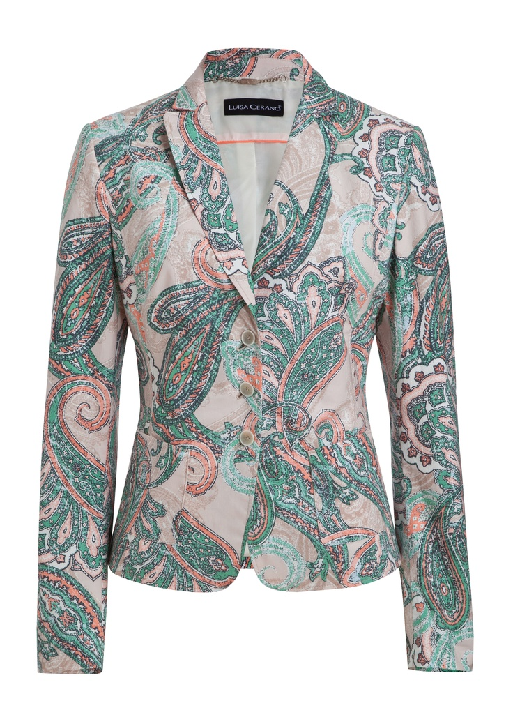Cotton Paisley Jacket