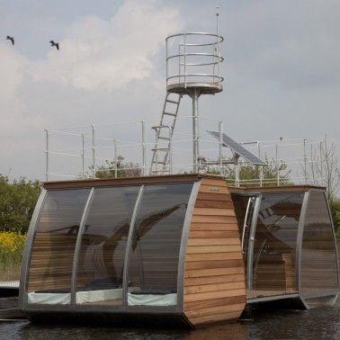 Ecolodge Biesbosch (nederland)
