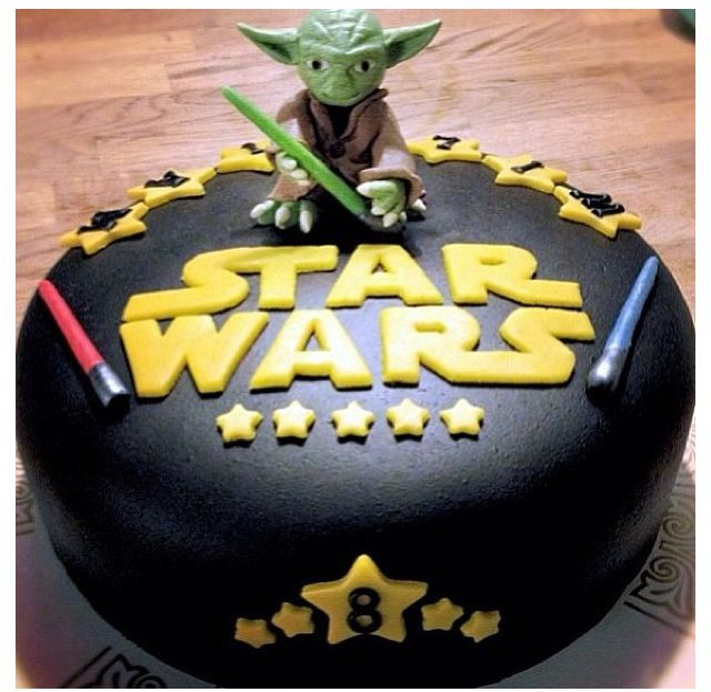 Looks easy.....use Tangy Taffy for the Light Sabers.