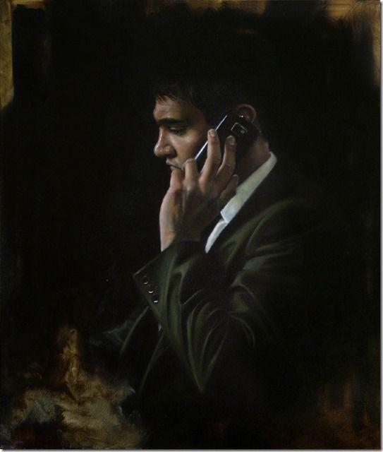 The Insider | Oil on Canvas Steven Lawler