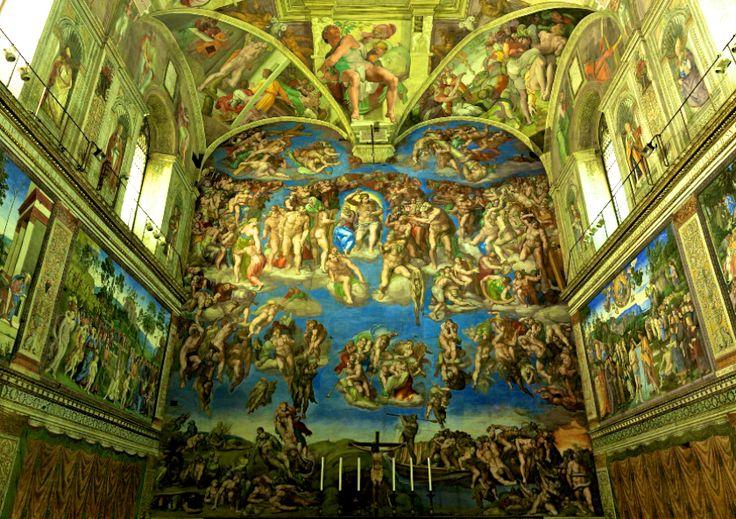 Vatikan Vatikanstadt Vatikanstaat Kunst Kultur Geschichte Historie Italien Rom Europe  Sixtinische Kapelle