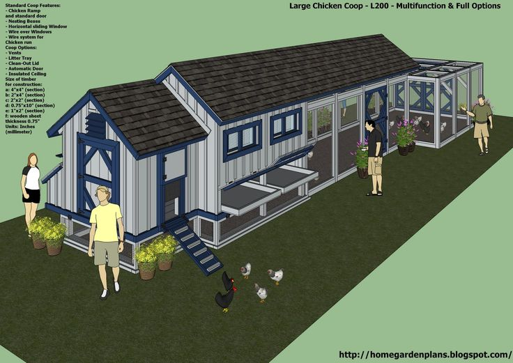 25 best ideas about large chicken coop plans on pinterest for Large chicken coop ideas