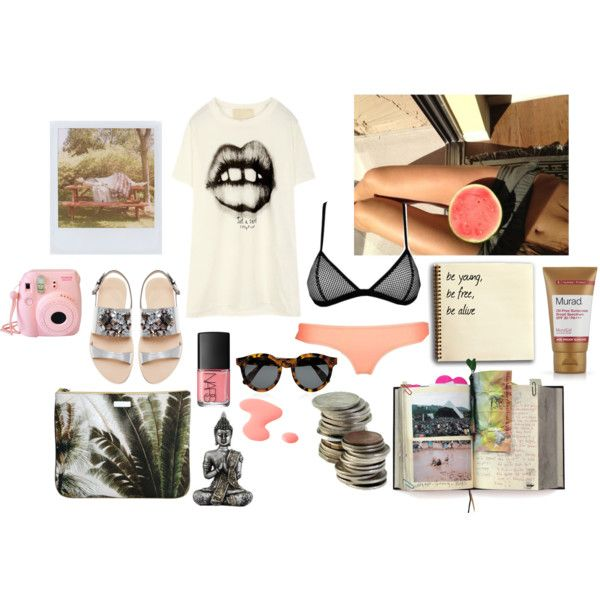 """summer nights"" by sophie-lawrence on Polyvore"